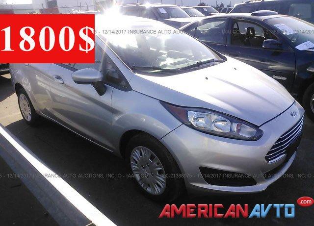 Купить Ford Fiesta в США
