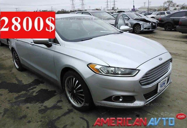 Купити Ford Fusion в США.