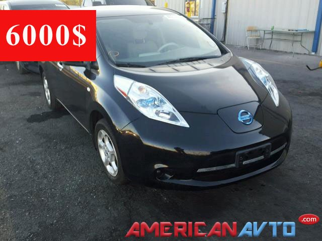 Купить Nissan Leaf на аукционе в США