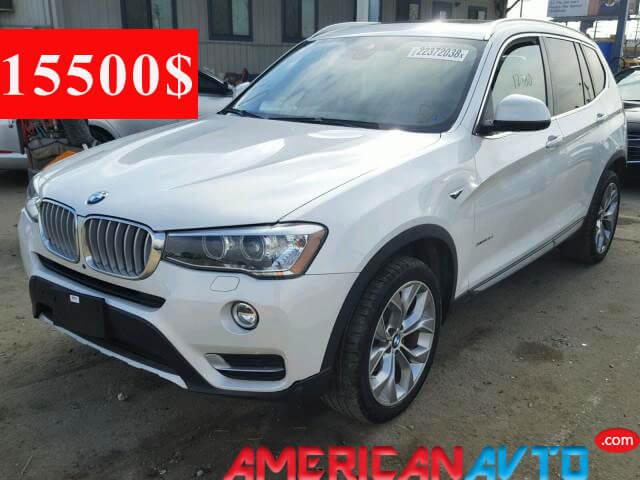 Купить BMW X3 в США