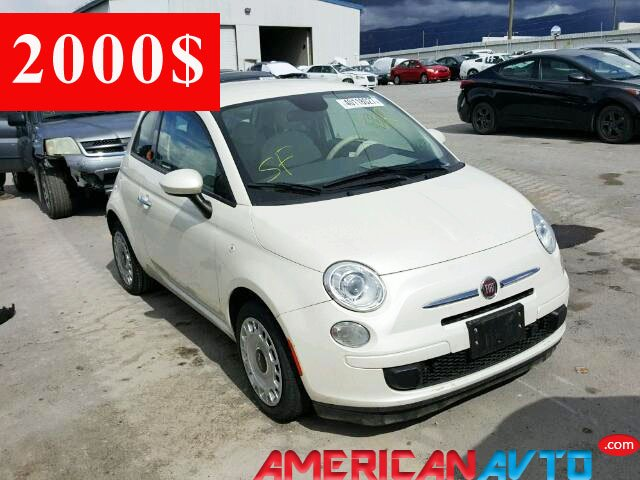 Купить FIAT 500 в США.