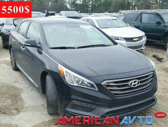 Купить Hyundai Sonata в США. Hyundai Sonata из Америки в Украину.