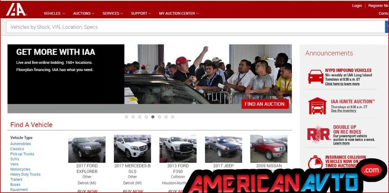 Аукционы Америки. Авто из акуциона США