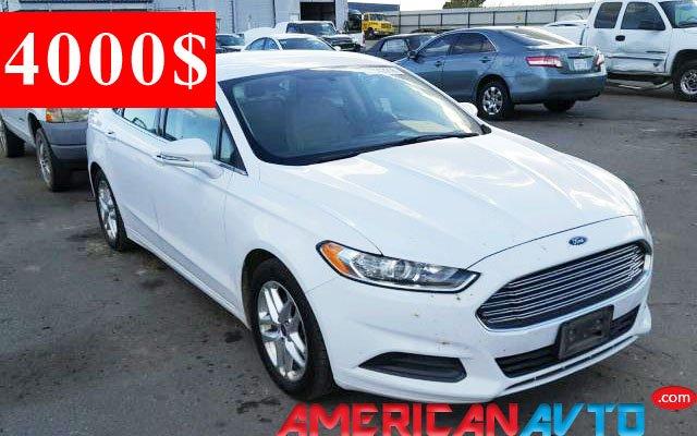 Купить Ford Fusion в США. Ford Fusion из Америки в Украину