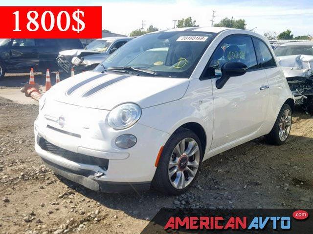 Купить FIAT 500 POP 2014 года в США