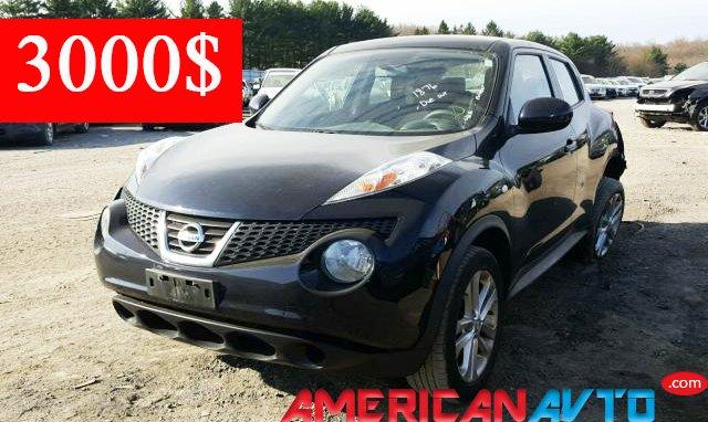 Купить NISSAN JUKE S 2011 из Америки в Украину.