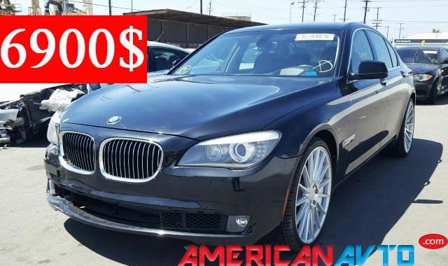 Купить BMW 740 I 2011 года в США