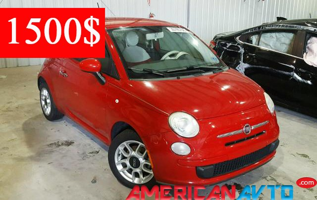 Купить FIAT 500 POP 2012 года в США.