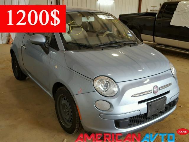 Купить FIAT 500 POP 2013 года в США