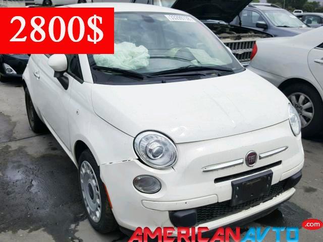 Купить FIAT 500 POP 2016 года в США