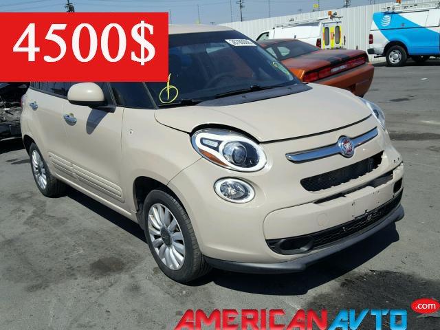 Купить FIAT 500L EASY 2014 года в США