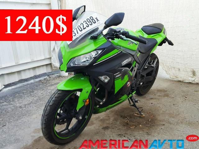 Купить мотоцикл Кавасаки из США в Украину