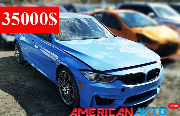 Купить BMW M3 2017 года в США (7)