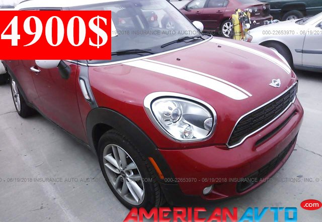 Купить MINI COOPER S COUNTRYMAN 2014 года в США