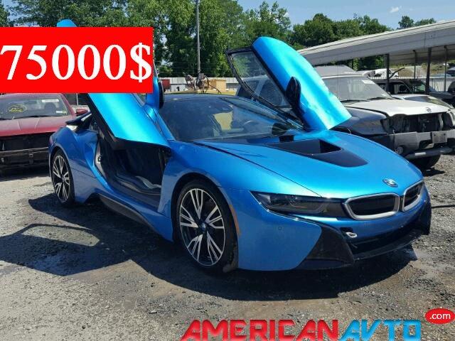 Купить BMW I8 2016 года в США