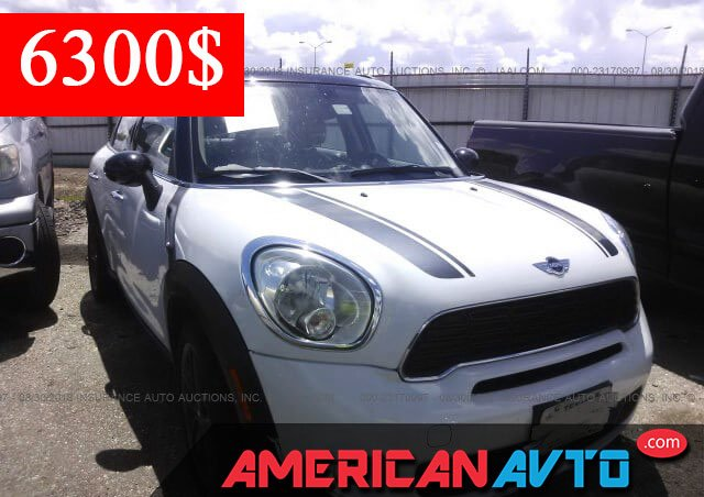 Купить MINI COOPER S COUNTRYMAN 2014 года