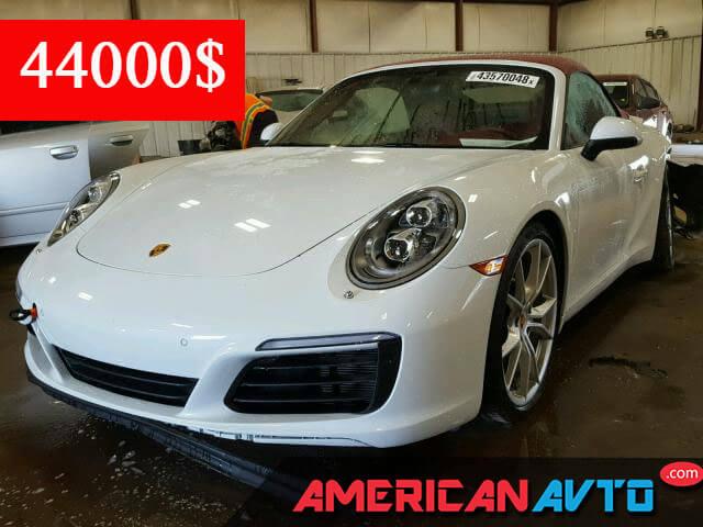 Купить PORSCHE 911 CARRERA 2017 года в США