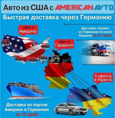 Быстрая Доставка авто из США