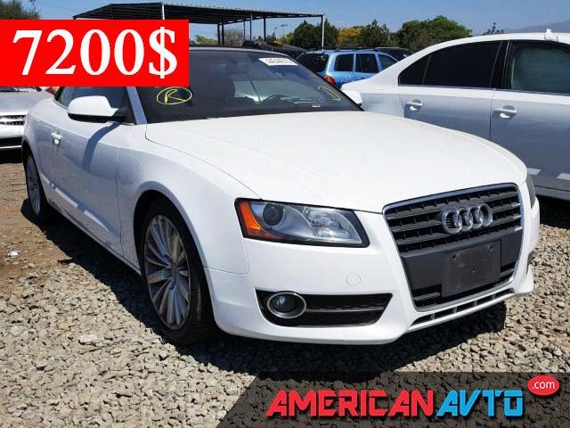 Купить AUDI A5 2012 года в США