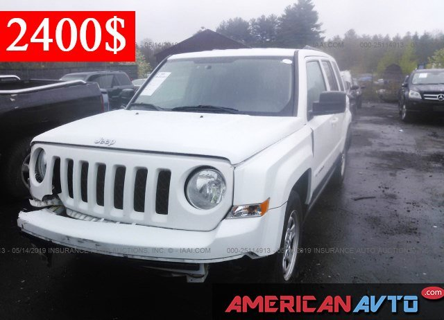Купить JEEP PATRIOT SPORT 2016 года в США