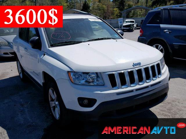 Купить JEEP COMPASS LATITUDE 2012 года в США