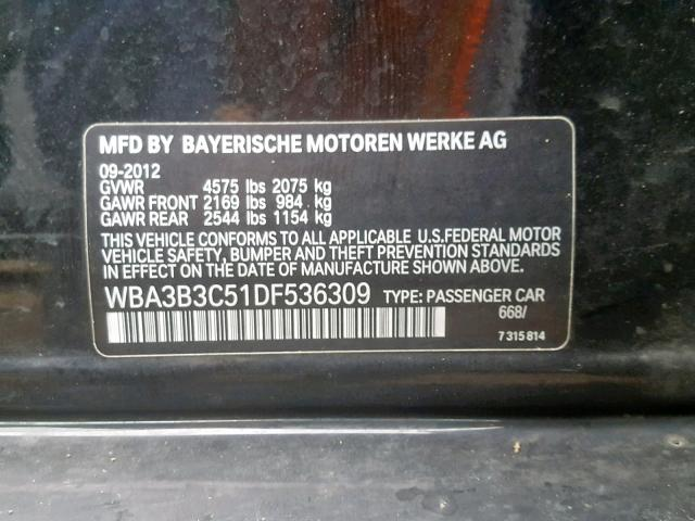 BMW 328 XI 2013 USA Americanavto