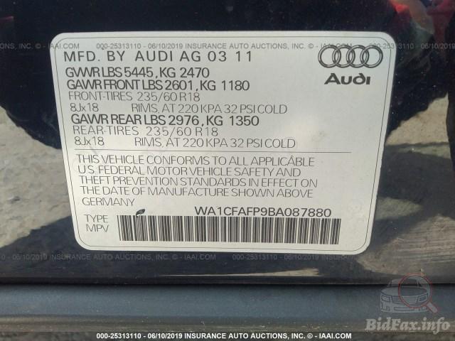Audi Q5 2011 USA Americanavto