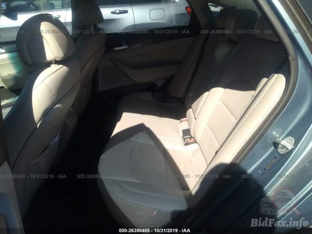Купить белую бу Hyundai Sonata 2.4 2015 года года в США