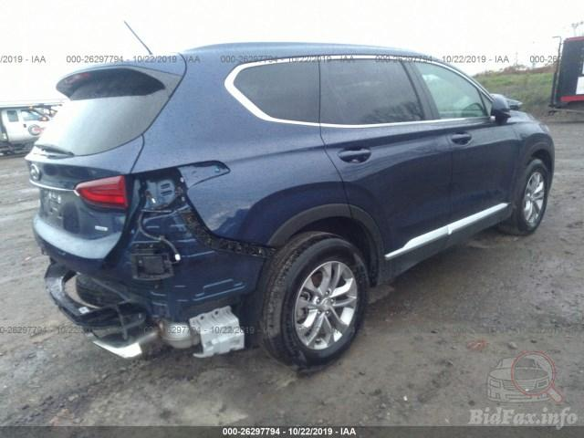 Купить бу Hyundai Santa Fe 2.4 2019 года в США