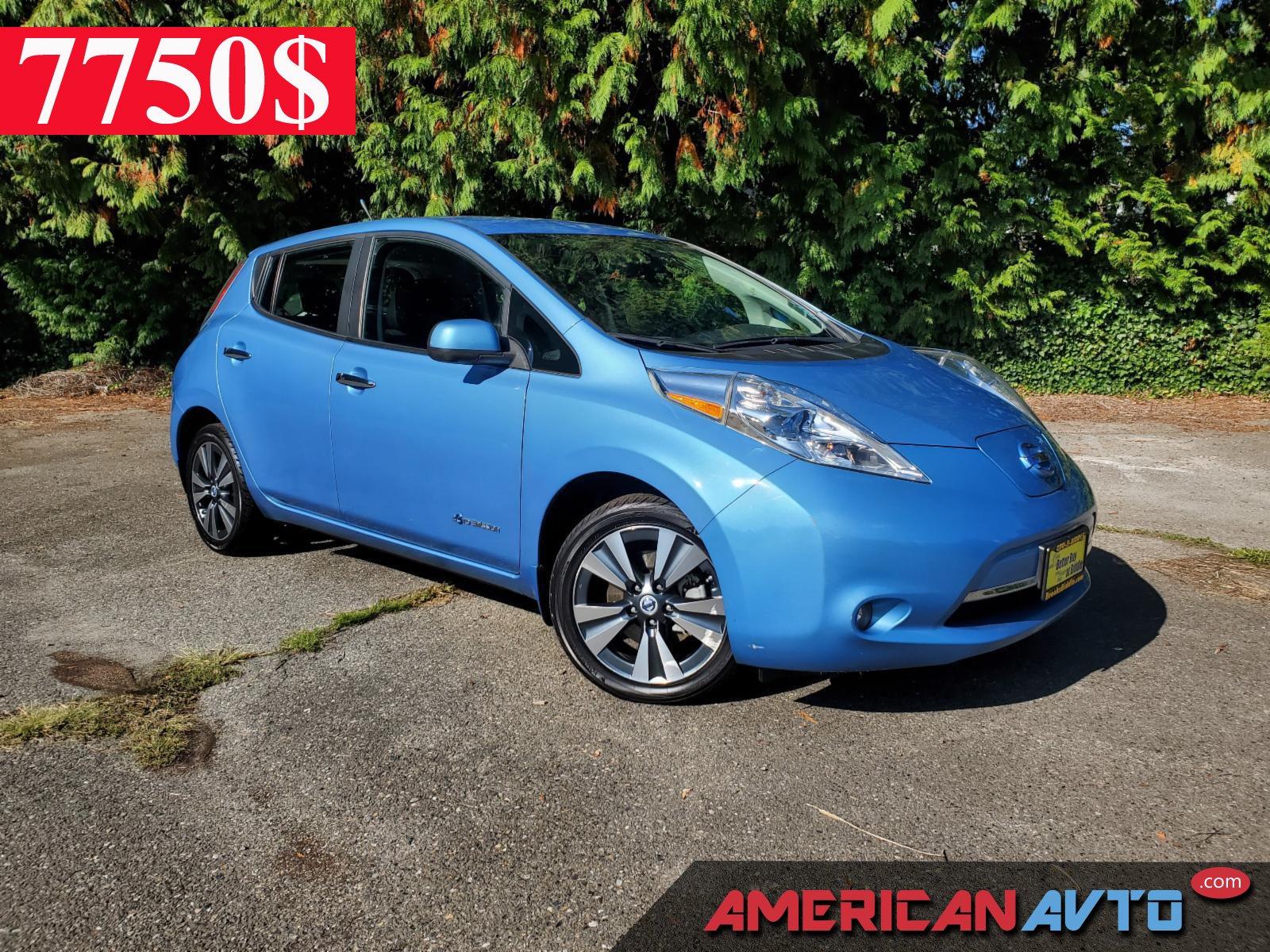 Купить Nissan LEAF 2014 года в США