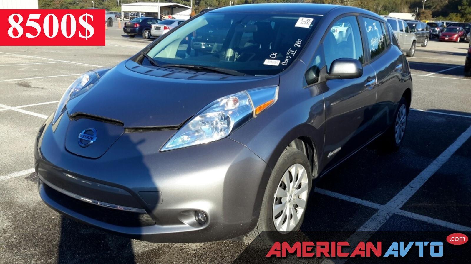 Купить Nissan LEAF 2015 года в США