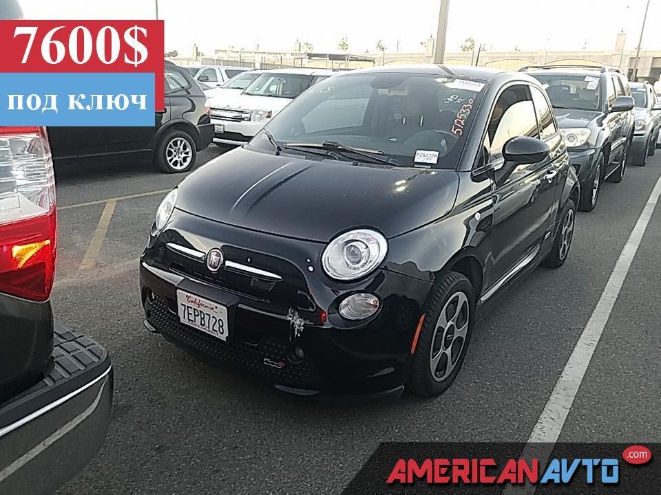 Купить бу FIAT 500E 24 кВтч 2015 года в США