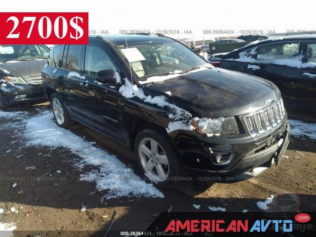 Купить бу JJeep Compass 2.0 2014 года в США