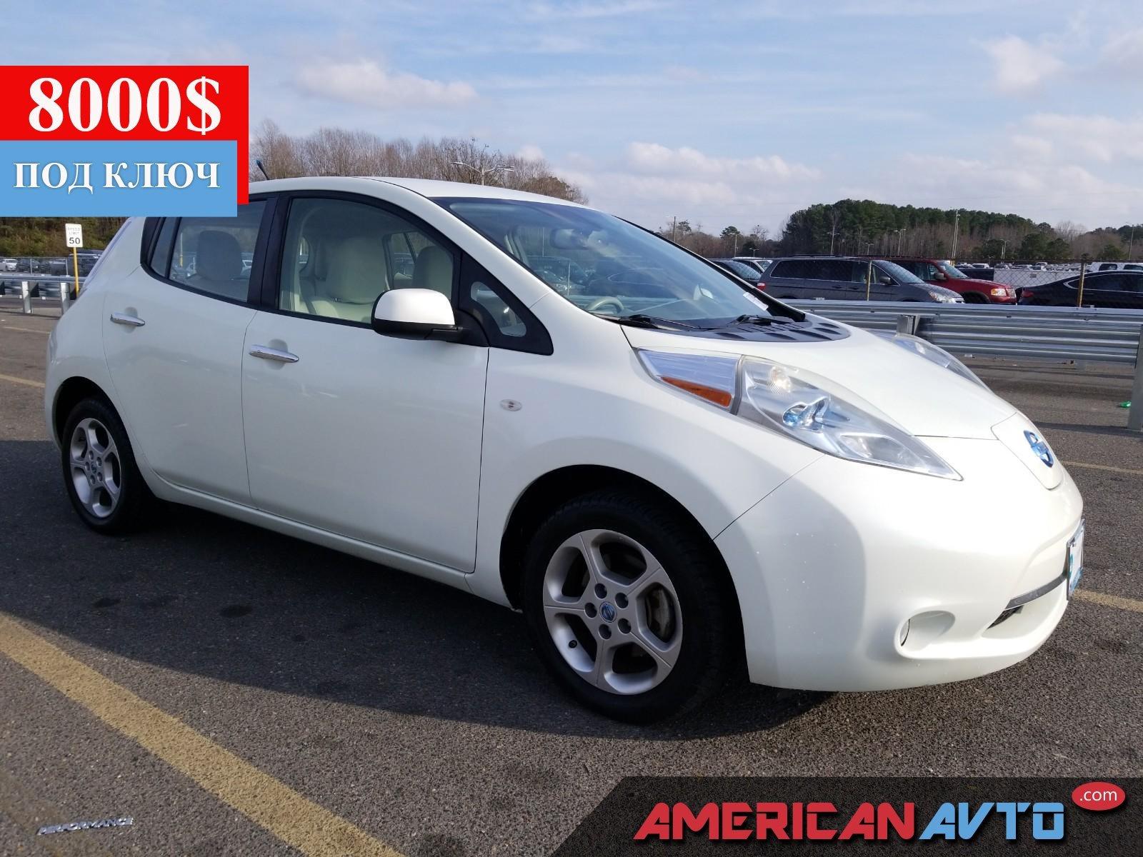 Купить бу Nissan LEAF 24.2kWt 2014 года в США