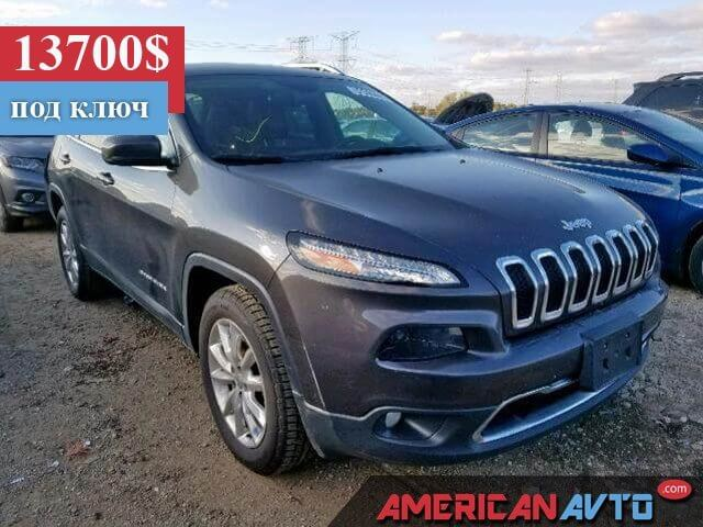 Купить бу JEEP CHEROKEE LIMITED 2015 года в США