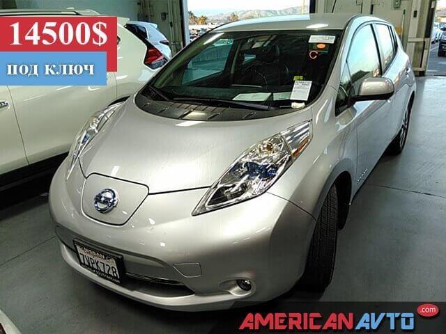 Купить бу Nissan LEAF 30 kwt 2016 года в США