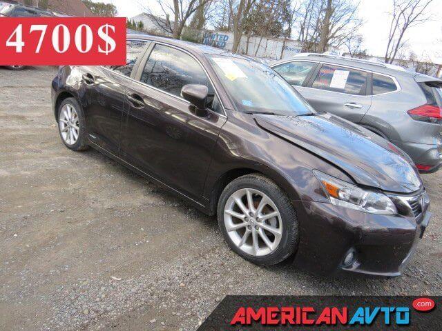 Купить белую бу Lexus Ct 200 2012 года в США