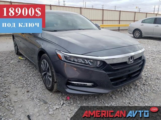 Купить бу HONDA ACCORD 2.0 2019 года в США