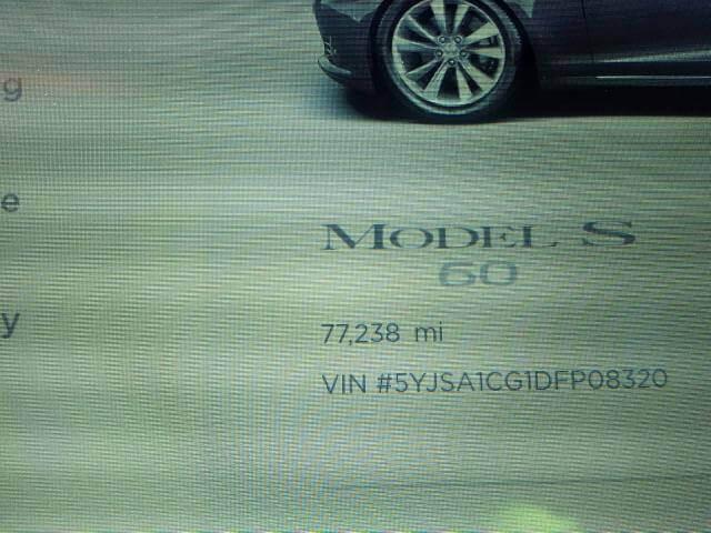 Купить бу TESLA MODEL 85 kwt 2013 года в США