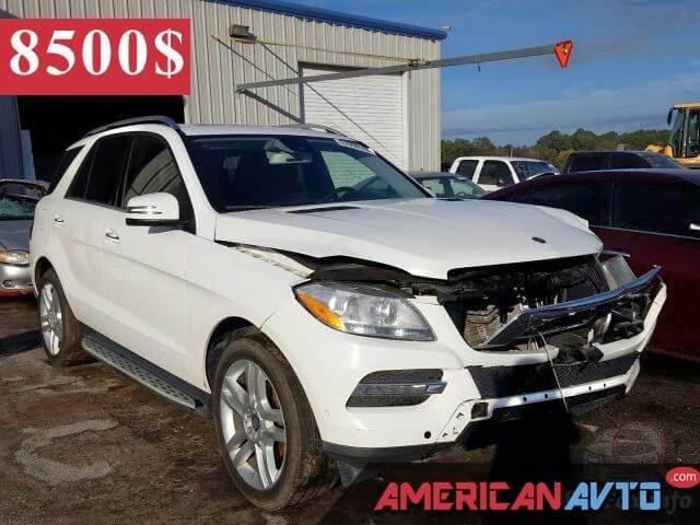 Купить бу Mercedes-Benz Ml 350 2015 года в США