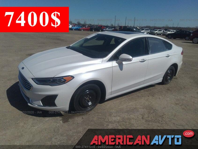 Купить б/у Ford Fusion 1.5 2020 года в США