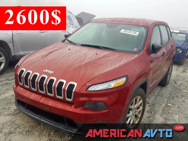 Купить б/у Jeep Cherokee 2.4 2017 года в США