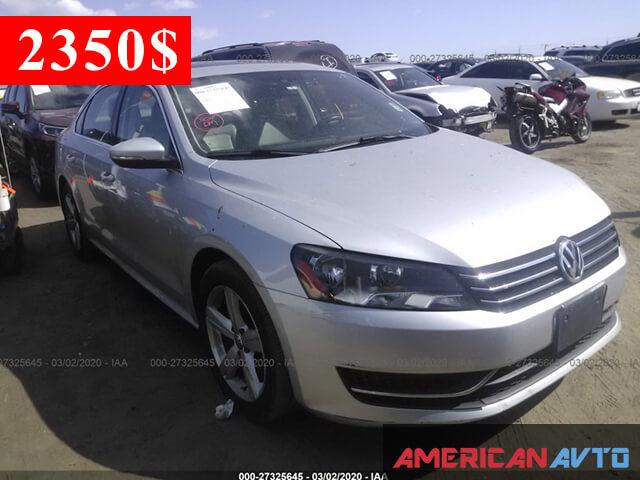 Купить бу Volkswagen Passat 2.5 2012 года в США