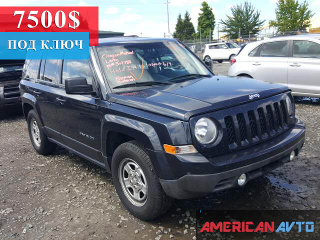 Купить бу JEEP PATRIOT SPORT 2014 года в США8)