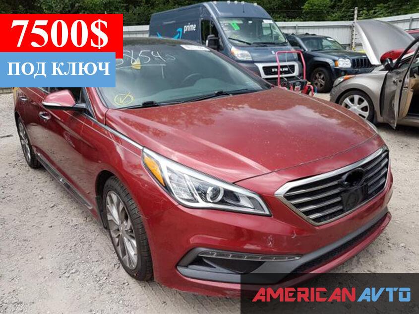 Купить Hyundai Sonata Sport 2015 года в США