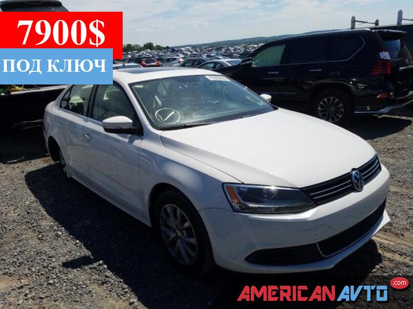 Купить б/у Volkswagen Jetta 2.5 2013 года в США
