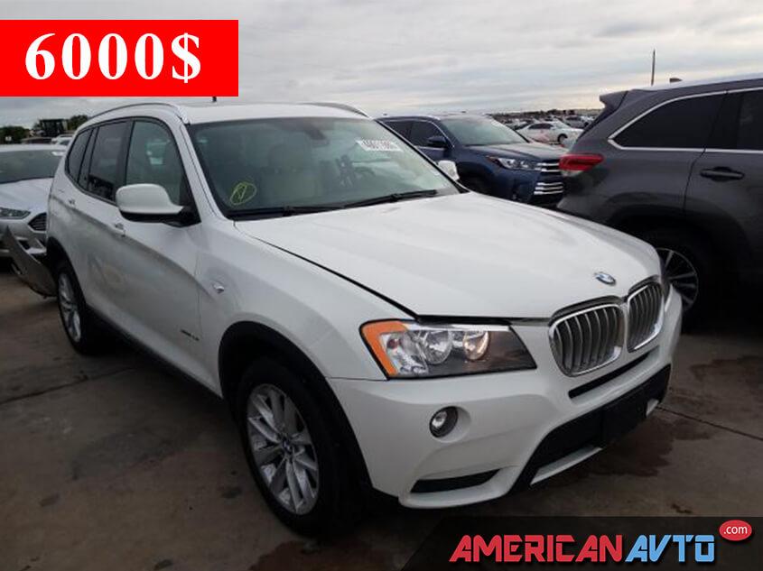 Купить BMW X3 XDRIVE 28I 2014 года в США