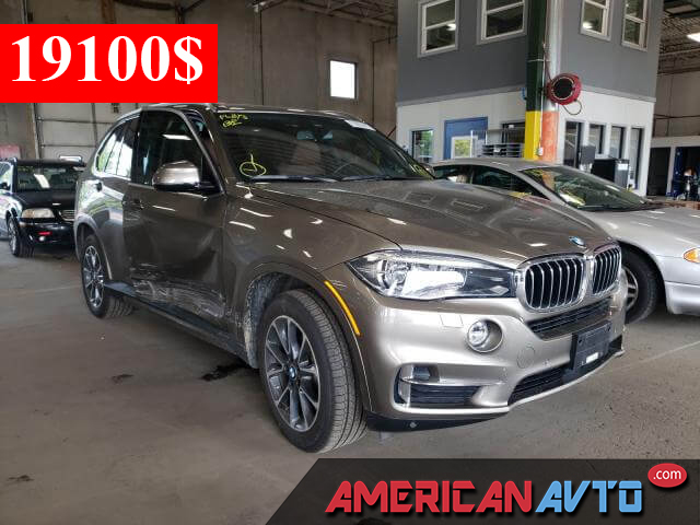 Купить бу BMW X5 XDRIVE35I 2017 года в США